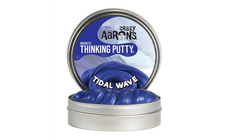 Crazy Aaron's Tidal Wave Super Magnetic Thinking Putty