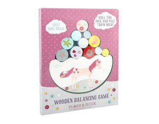 Floss and Rock Wooden Balance Game