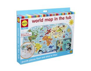 We have got a great selection of fun presents for 4 year old boys alex brands world map in the tub negle Gallery