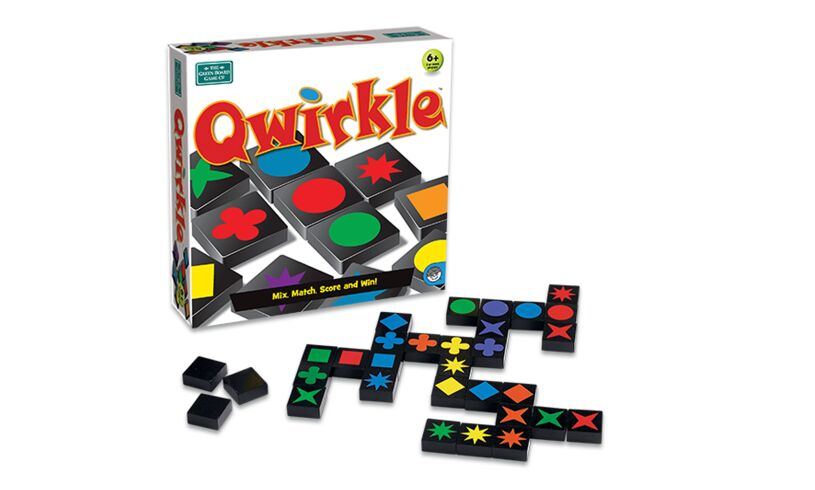 Green Board Games Qwirkle