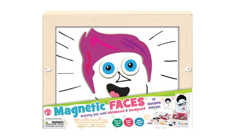 Fiesta Crafts Magnetic Faces Box