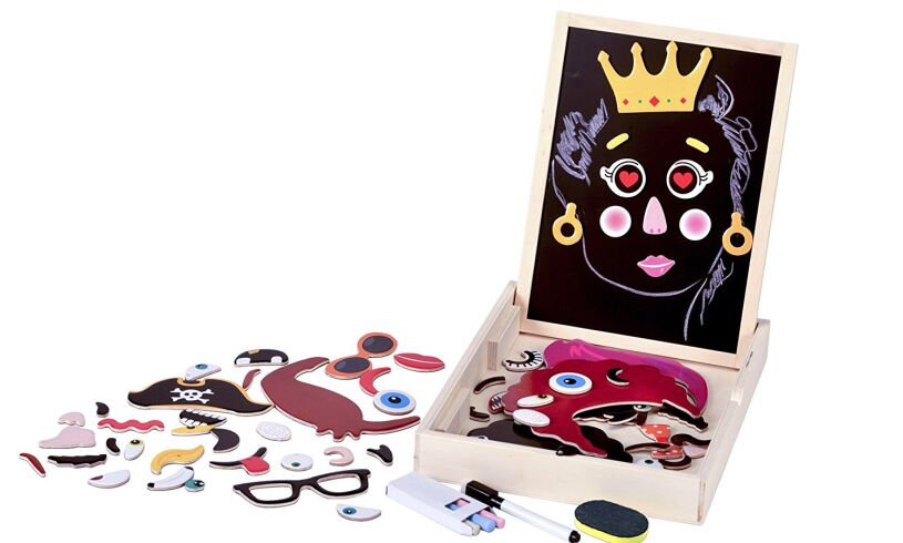 Fiesta Crafts Magnetic Faces Contents