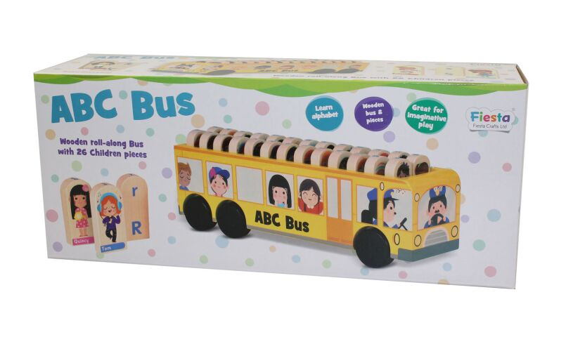 Fiesta Crafts ABC Bus Box