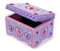 Decorate Your Own Wooden Jewellery Box