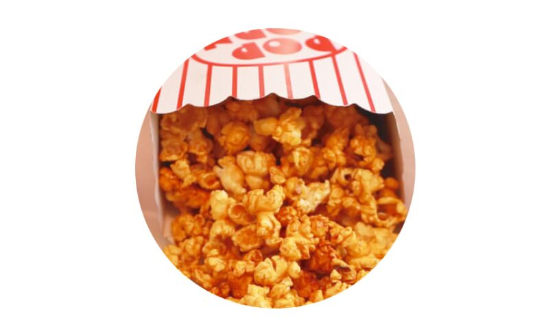Caramel chilli pepper popcorn