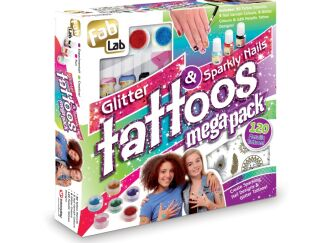 Glitter Tattoos & Sparkly Nails mega Pack