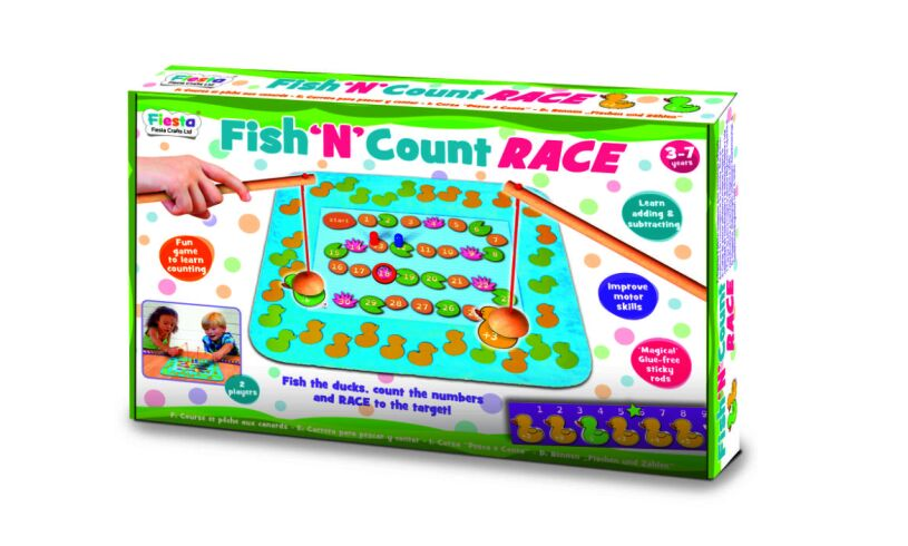 Fiesta Fish 'N' Count Race