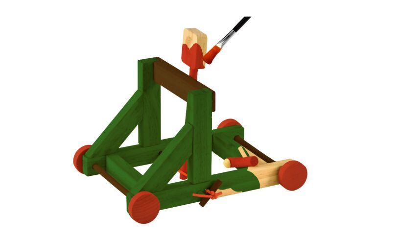 Build a Firing Catapult Decorate