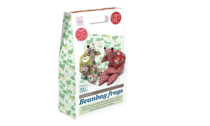 Beanbag Frogs Sewing Kit
