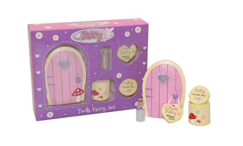 Fairy Friendship Pink Tooth Fairy Set