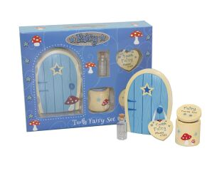Blue Tooth Fairy Set