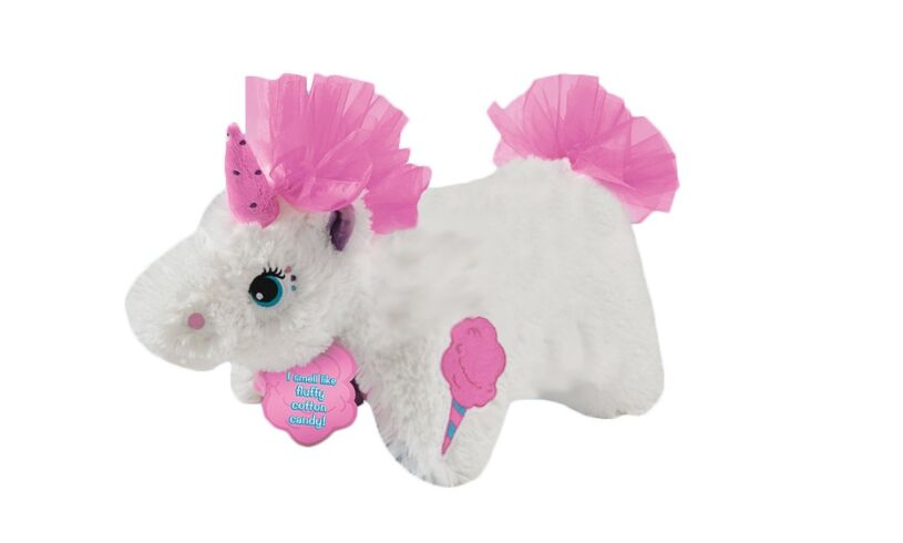 Unicorn Pillow Pet Candy Floss Scented