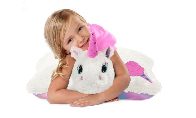 Unicorn Pillow Pet Cotton Candy