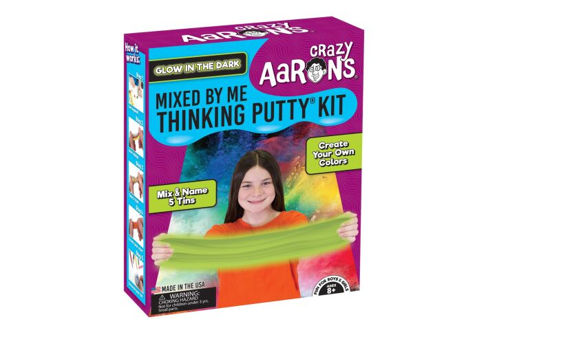 Crazy Aaron's Thinking Putty Mixed by me