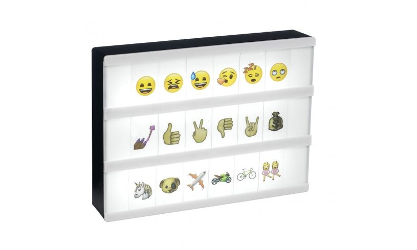 A5 Emoji Light Box