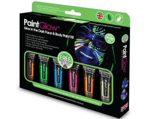 PaintGlow glow in the dark face & body paint