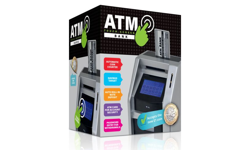 ATM Touch Screen Bank