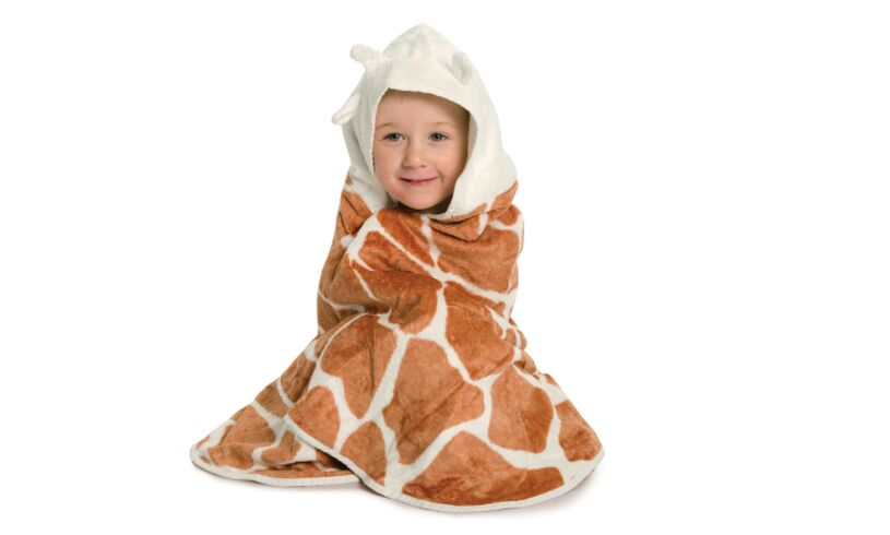 Cuddledry cuddle safari bath towel