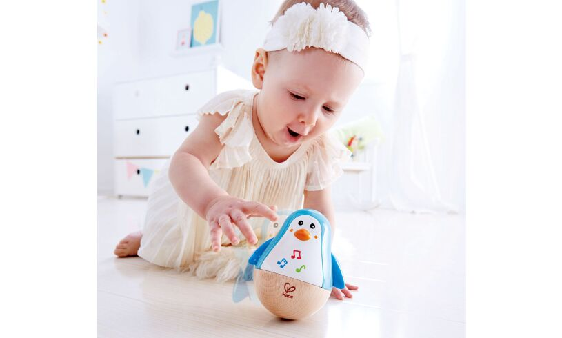 Hape Penguin Musical Wobbler Lifestyle