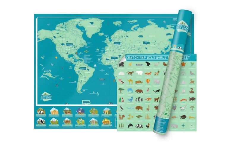 Wild World Scratch Map