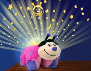 Dream Lites Pillow Pets Hot Pink Lady Bug