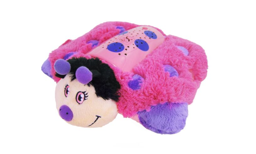 Pillow Pets Hot Pink Ladybug