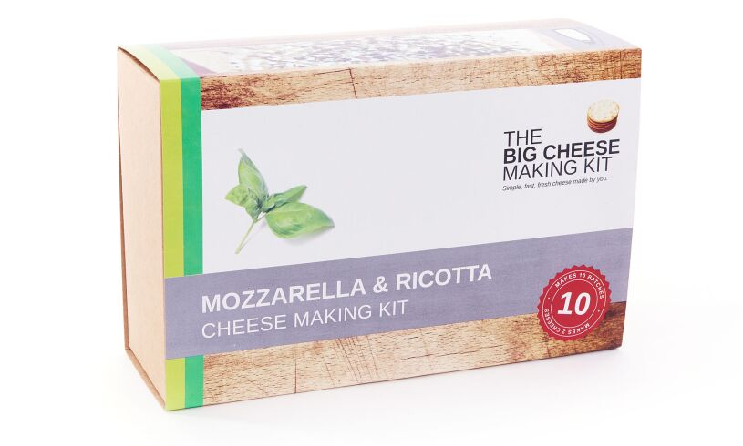 Big Cheese Making Kit Packaging