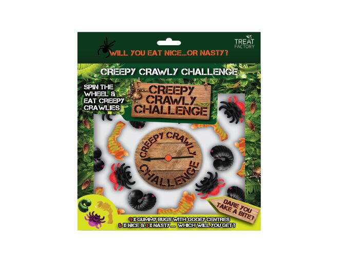 Creepy Crawly Challenge
