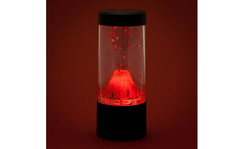 Mini Erupting Volcano Mood Light white background