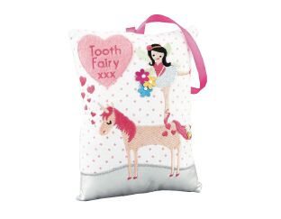 Floss and Rock Unicorn Tooth Fairy Cushion