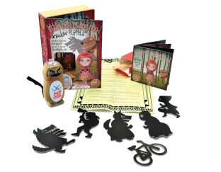 Red Riding Hood Shadow Puppets