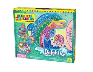 Dolphins Sticky Mosaics Orb Factory