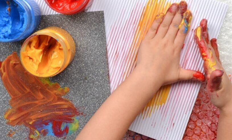 Early Start Micador Sensory Painting