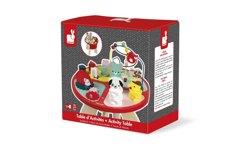 Janod Activity Table Box