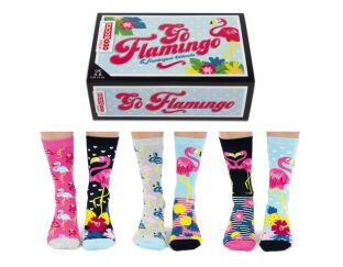 Go Flamingo United Odd Socks