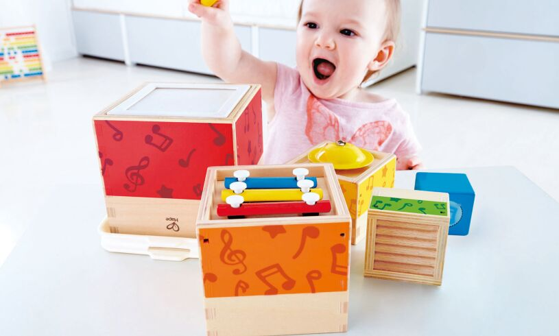 Hape Stacking Music Set E0336