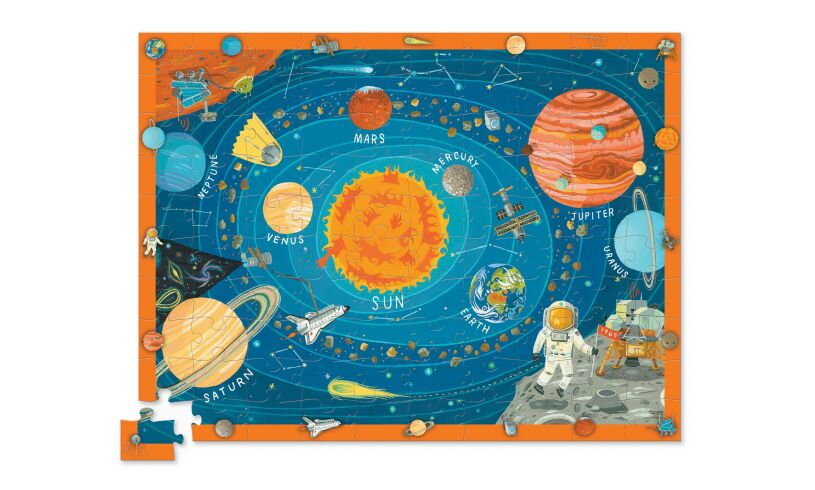 Crocodile Creek discover space puzzle and play