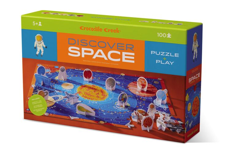 Crocodile creek discover space 100 piece puzzle