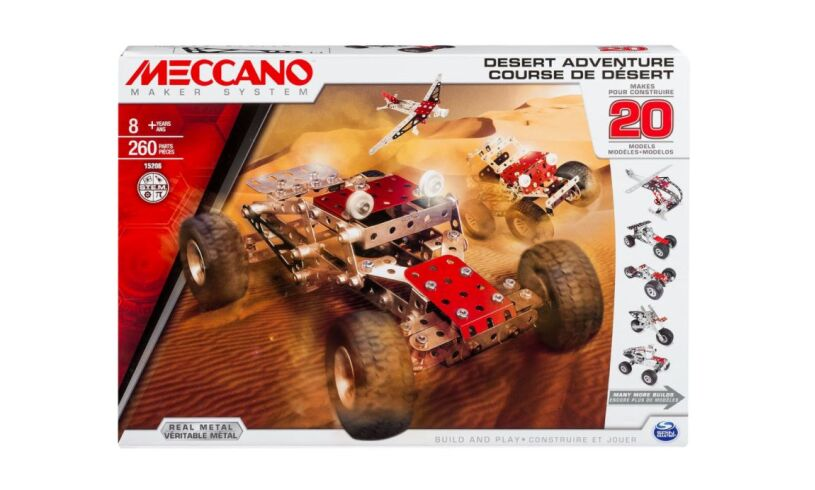 Desert Adventure - 20 Model Meccano Set  15206