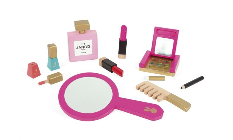Janod Little Miss Vanity Set Contents