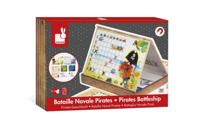 Janod Pirate Battleships Box