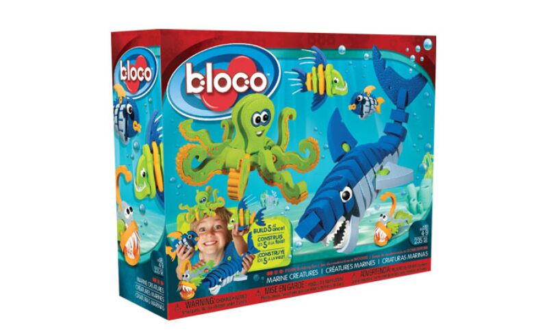 Bloco Marine Animals