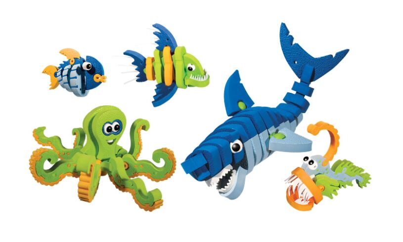 Bloco Marine Animals Box