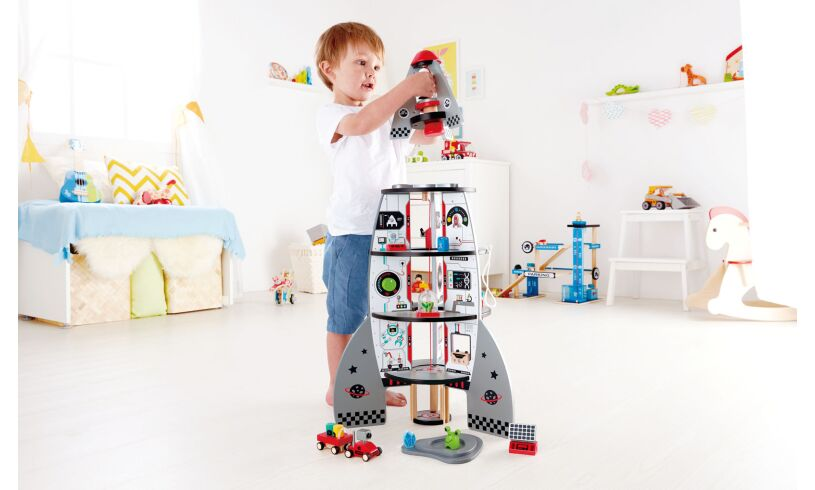 Hape Four Stage Rocket Ship