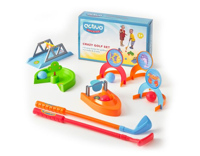 Activo Crazy Golf Set
