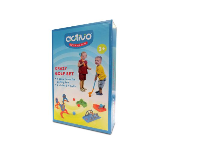 Activo Crazy Golf Set Box