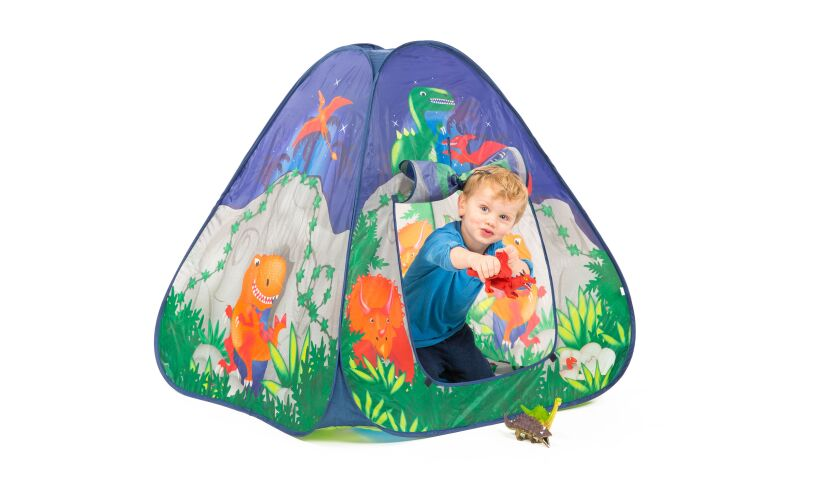 Pop It Up Dinosaur Cave Play Tent ...  sc 1 st  Wicked Uncle & Dinosaur Cave - Pop Up Play Tent - Boys Aged 14