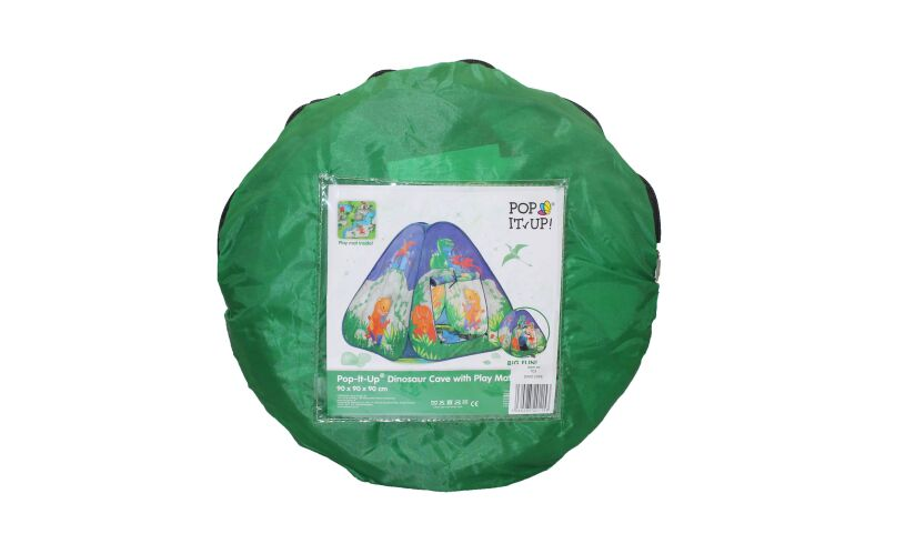 Dinosaur Cave Play Tent Packing