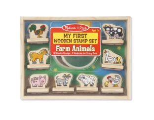 My First Stamp Set Farm Animals