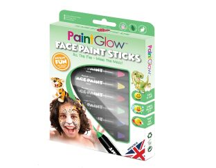 PaintGlow Face Paint Sticks Animals